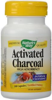 Activated Charcoal high adsorbency capsules