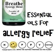 Essential oils for allergy relief