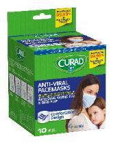 Curad antiviral face masks ~ swine flu and bird flu