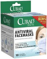 Curad anti-viral masks