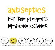 antiseptics for the prepper's medicine cabinet