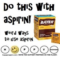 Do this with aspirin