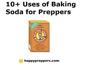 10 Uses of Baking Soda for Prepping