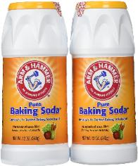 Baking soda pack of two