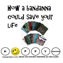 How a bandanna couls save your life