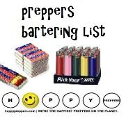 Prepper's barterting list