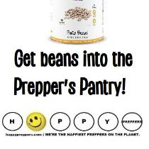 Get beans inot the preppers pantry