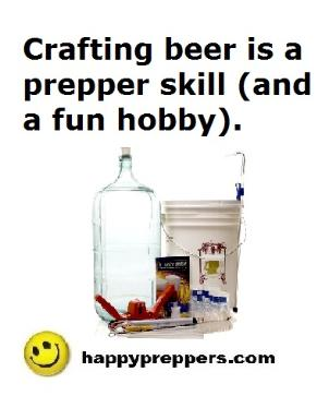 Beermaking is a Prepper Skill
