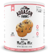 Augason Farms Blueberry Muffin Mix Can