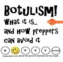 Botulism and the threat to preppers