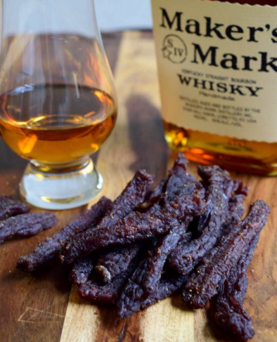 kentucky bourbon beef jerkey
