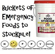 Supersize your prepper's pantry with food buckets