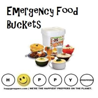 Emergency Food Buckets