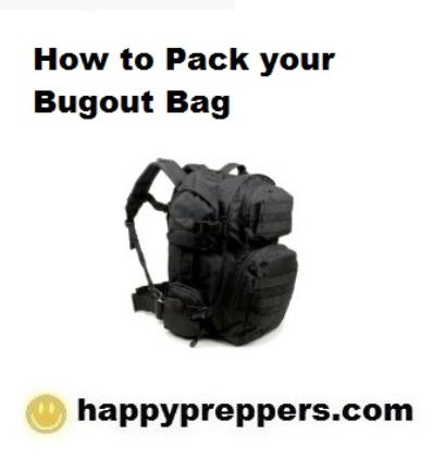 How to Pack Your Bugout Bag