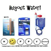 Bugout water