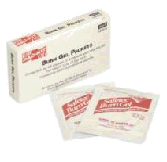Burn gel packets refills for the prepper medical first aid kit