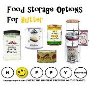 Food Storage Options for Butter - all about canning butter
