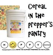 Cereal as emergency food storage