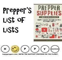 Preppers List of List