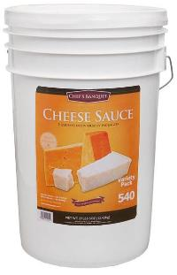 Cheese Sauce Bucket