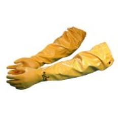 Long chemical gloves