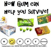 How chewing gum can help you survive