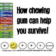 How to use chewing gum to survive