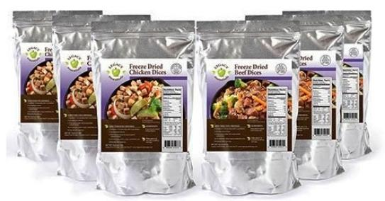 Legacy foods chicken and beef