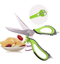 Kitchen scissors for cutting chicken