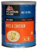 Mountain house chicken and rice