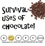 Chocolate for prepping and survival
