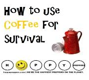 how to use coffee for survival