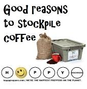 Good reasons to stockpile coffee