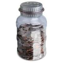 Fun coin jar