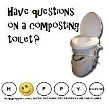 Have questions on a composting toilet?