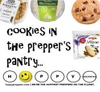 Cookies in the prepper's pantry