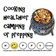 Cooking healthier camping or prepping