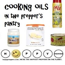 What are the best cooking oils for prepping?