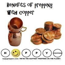 Benefits of prepping with copper