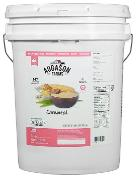 Corn meal bucket 22lbs (or 34 lbs. pictured)