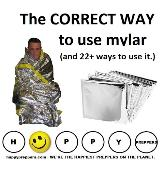 How to use mylar for survival (correctly)