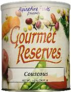 Couscous in a can