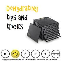 Dehydrating tips and tricks