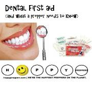 Dental First aid and what a prepper needs to know