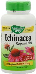 echinacea  herbal supplment for preppers