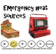 Emergency heat sources  that don't require electricity