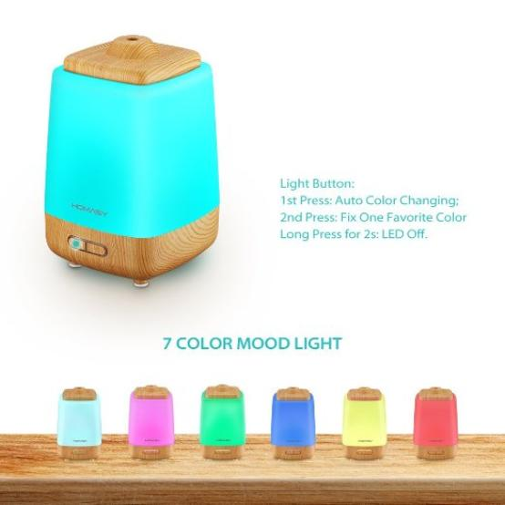 Color changing diffuser