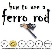 How to use a Ferro rod