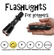 Flashlights for preppers