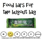 Survival food bars for the bugout bag